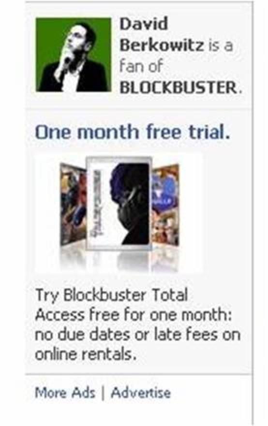 Facebook social ad taken from http://www.marketersstudio.com/2007/12/facebook-social.html