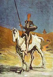 Don Quixote, Image taken from Wikipedia