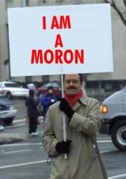 moron (image taken from http://www.blippitt.com)