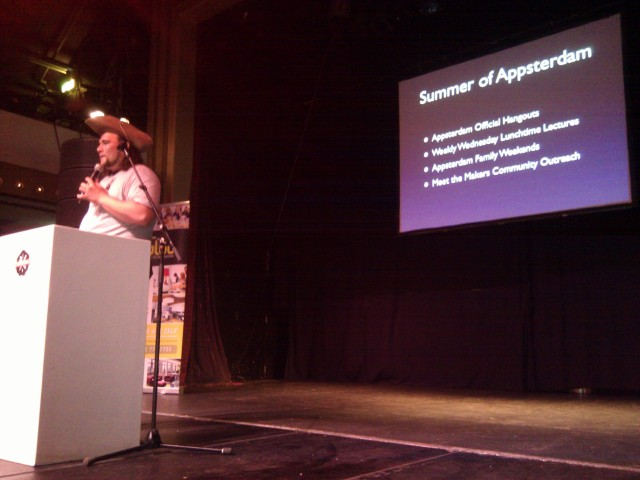 Mike Lee kicks off Appsterdam